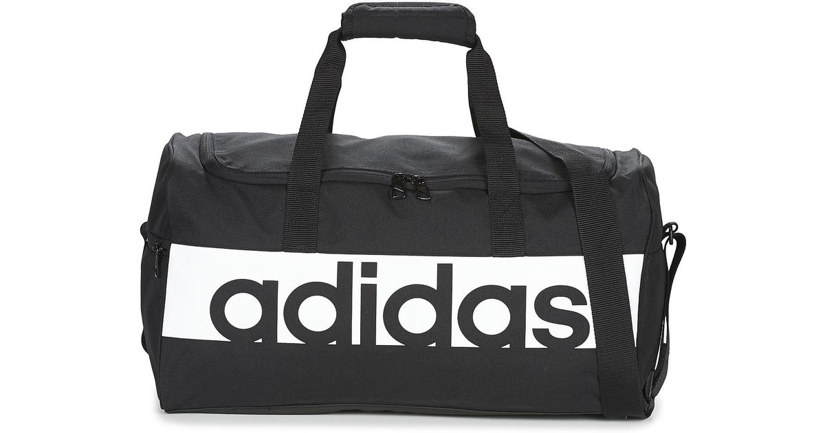 adidas Linear Teambag Medium Women s Sports Bag In Black in Black for Men -  Lyst e6685264a8