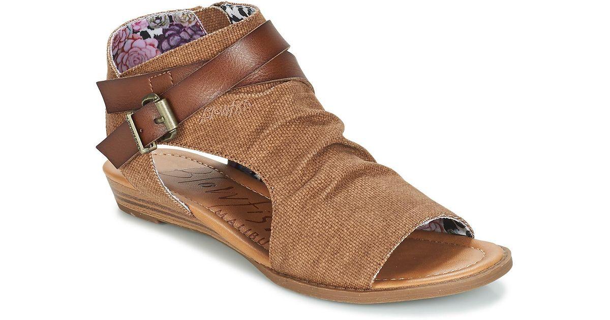 fb71fd6a1c46 Blowfish Malibu Balla Women s Sandals In Brown in Brown - Lyst