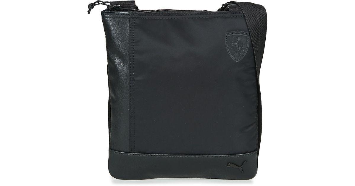 PUMA Ferrari Ls Flat Portable Men s Pouch In Black in Black for Men - Lyst f406c573488f7