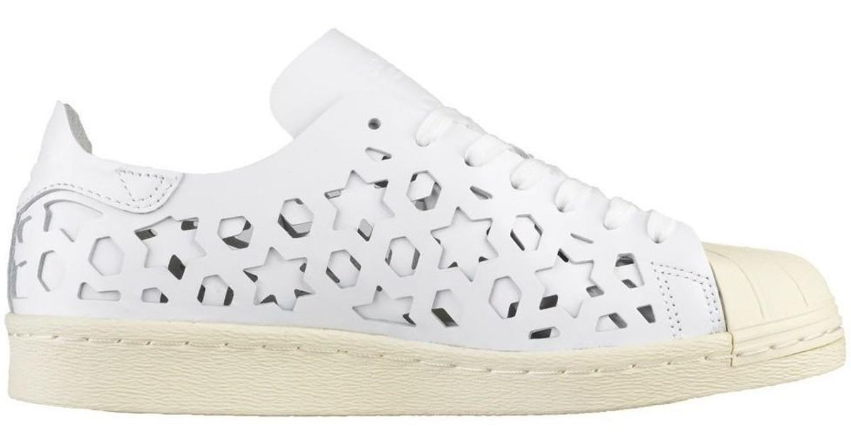 b45a671761 adidas Superstar 80s Cut Out W Women's Shoes (trainers) In White in White -  Lyst