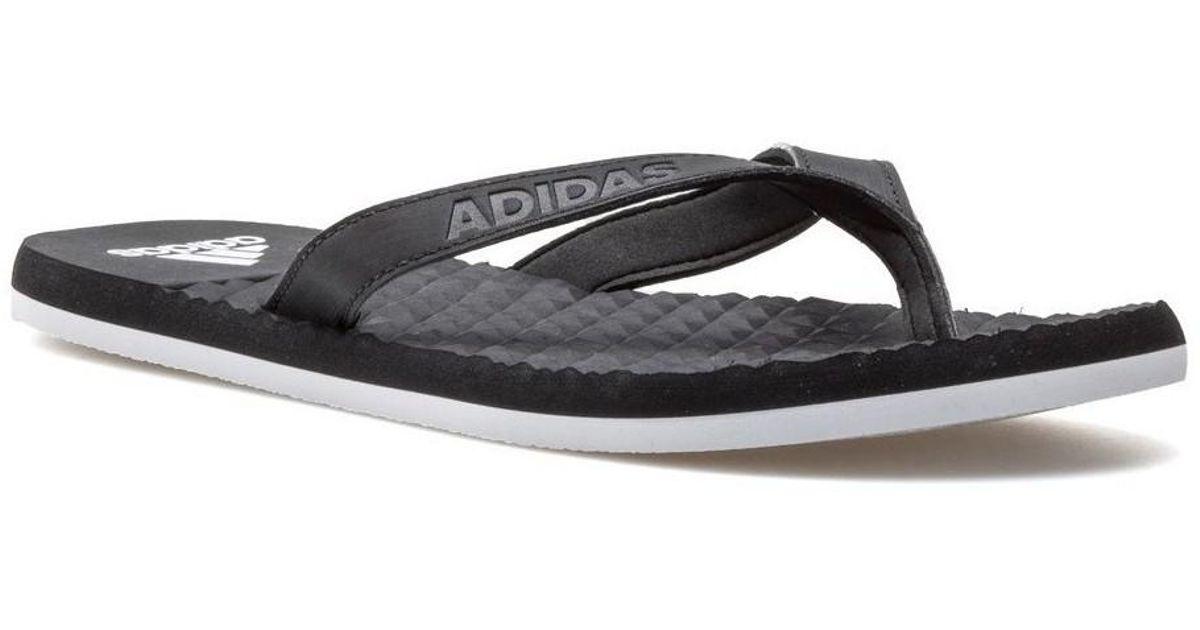 dbc1abf9f3f7 adidas Eezay Soft Men s Flip Flops   Sandals (shoes) In Black in Black for  Men - Lyst