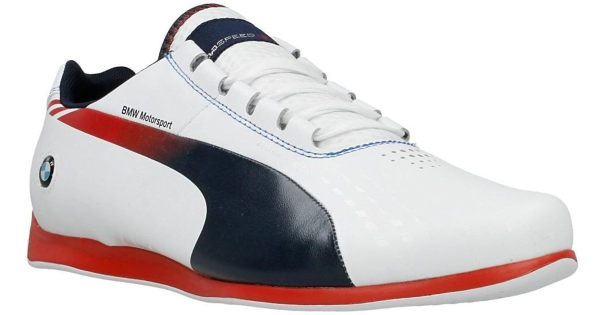 a530a1f7bce30f PUMA Bmw Ms Evospeed Men s Shoes (trainers) In White in White for Men - Lyst