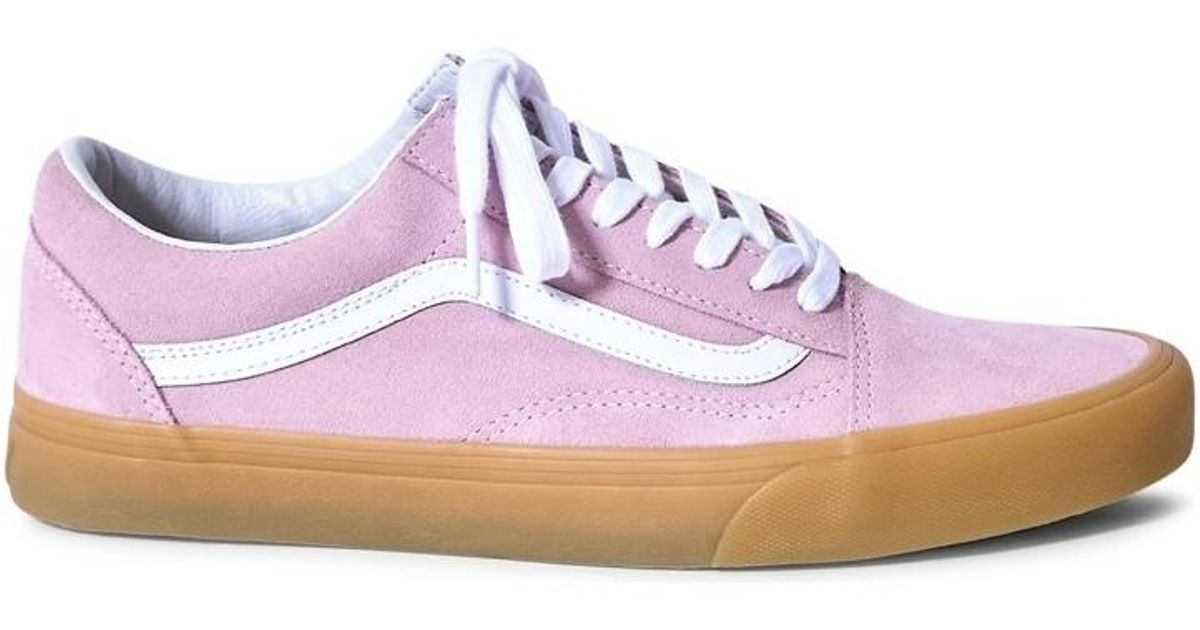 10d1f53a916c Vans Old Skool Trainers Gum Sole Pink Men s In Pink in Pink for Men - Lyst