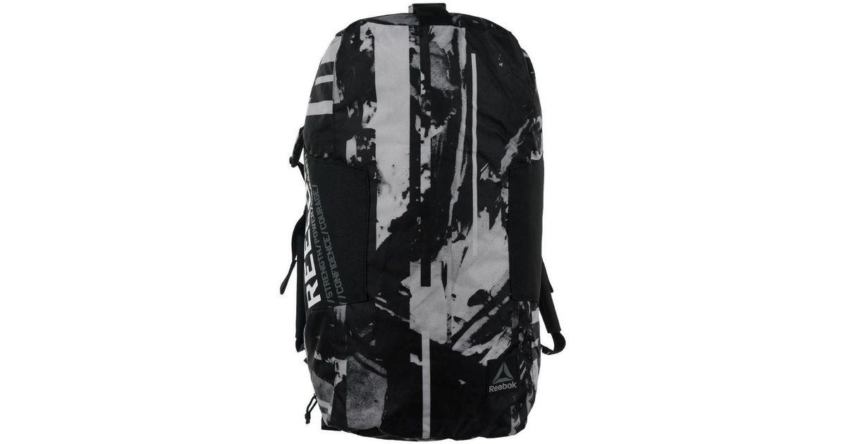 Reebok Motion Workout Women s Sports Bag In Black in Black for Men - Lyst