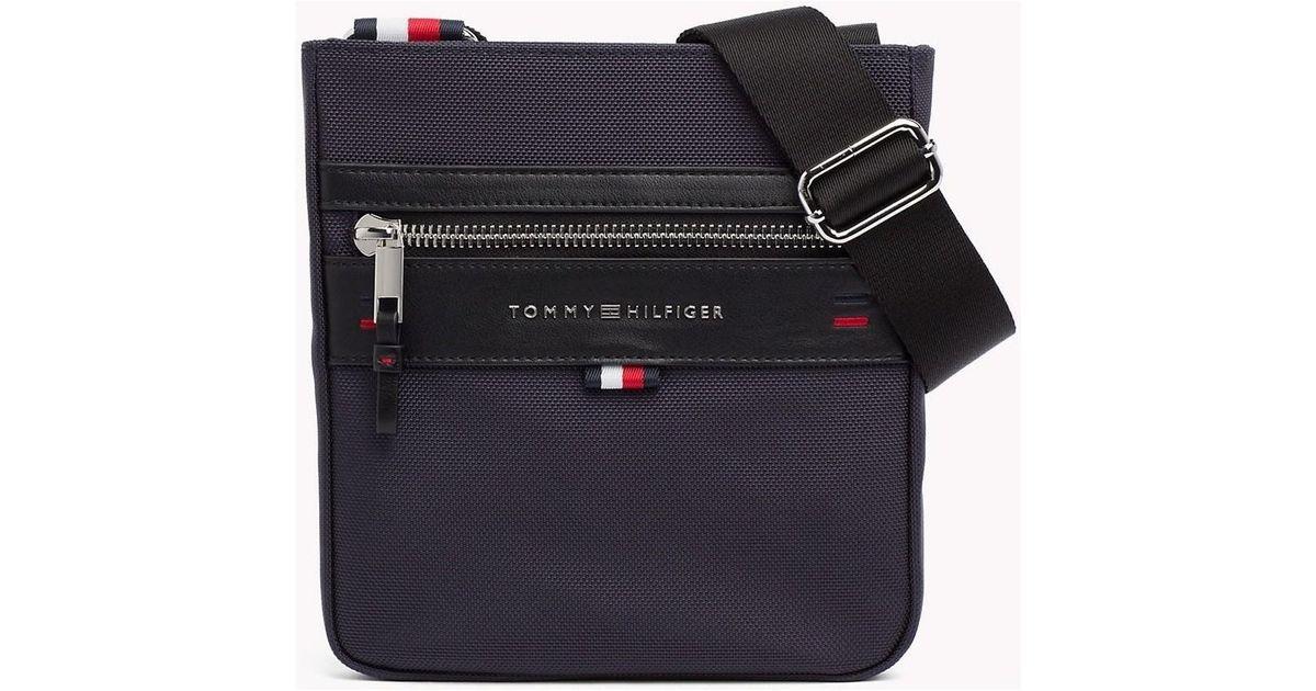 4b7a26cd735cd Tommy Hilfiger Elevated Mini Crossover Men s Messenger Bag In Black in  Black for Men - Lyst