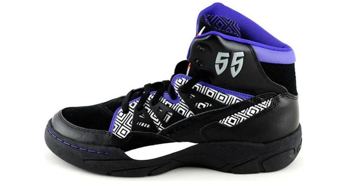 9a761148c Adidas Purple Lyst Mutombo Shoeshigh Top Men s TrainersIn oeQCxdBrW