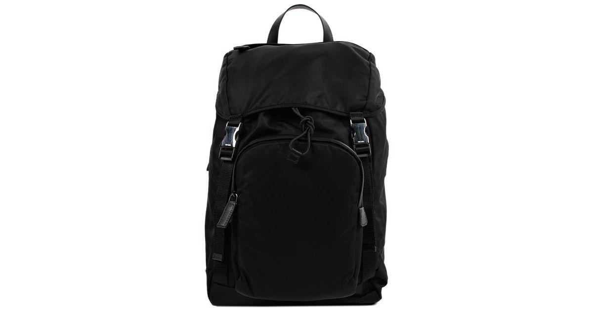 bcaac6bc8fba1e ... czech lyst prada tessuto montagna backpack in black for men 31a40 e20e8