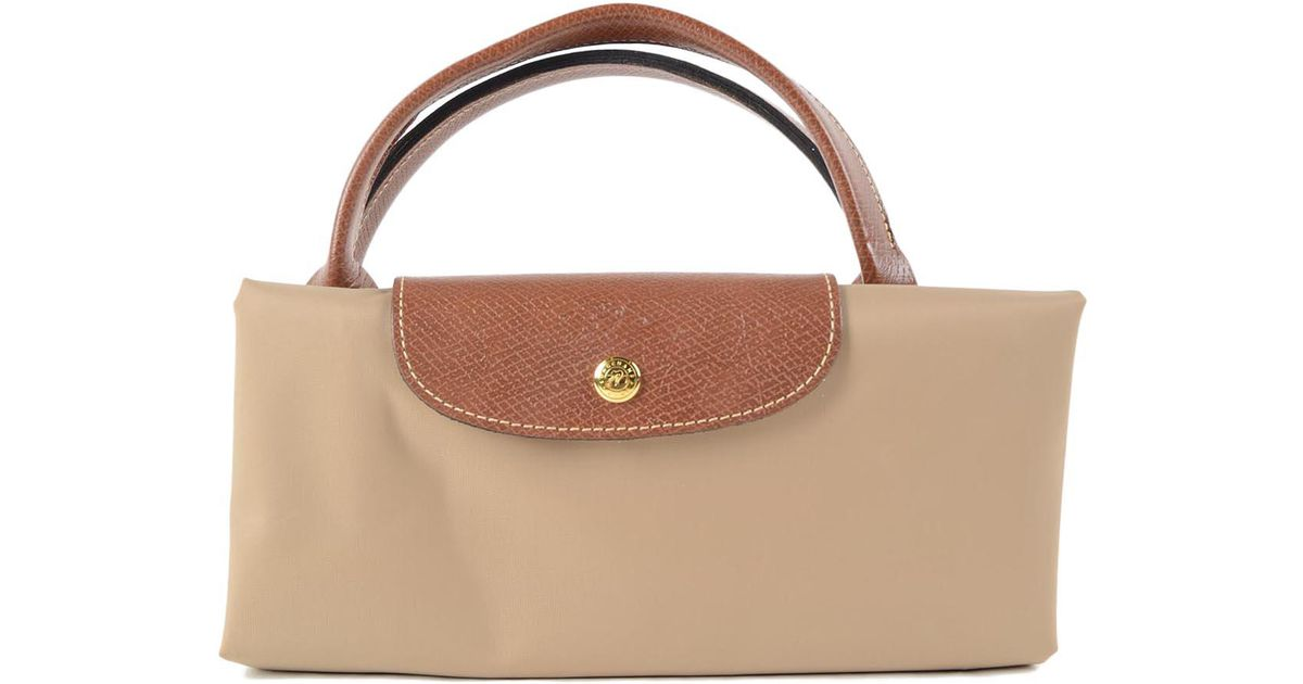 55a6681133df Longchamp Le Pliage Travel Bag Xl in Natural - Lyst