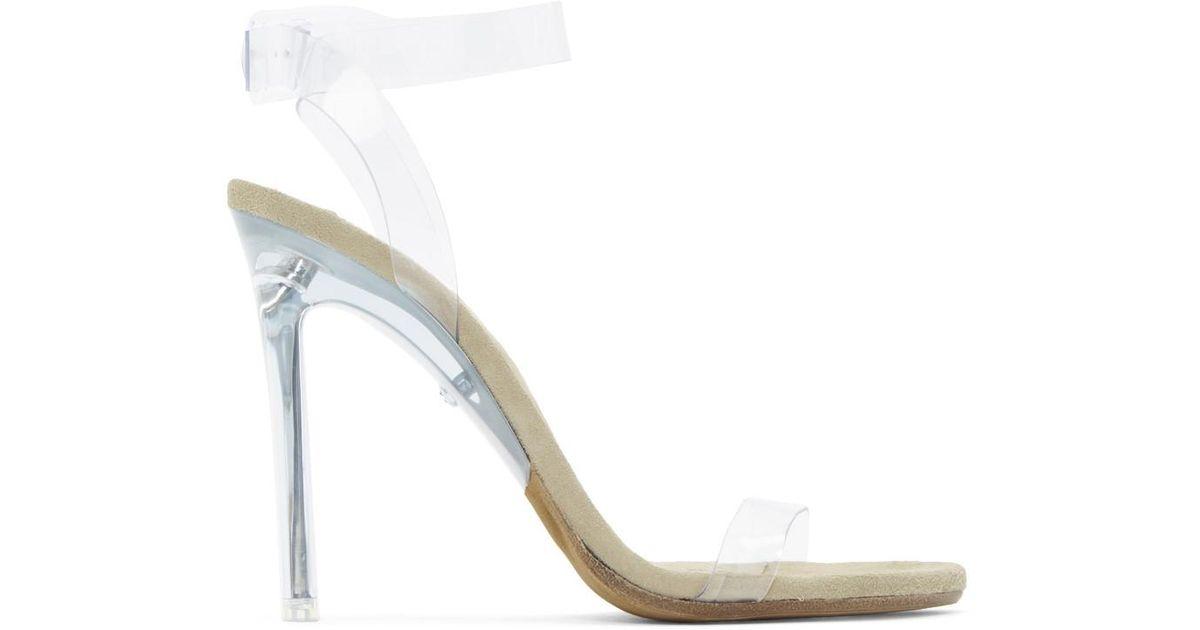 27a992b3cdc Yeezy Transparent Pvc Sandals - Lyst