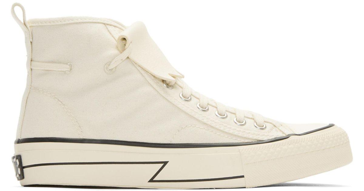 VISVIM Skagway Kiltie High-Top Sneakers zthiXiBS