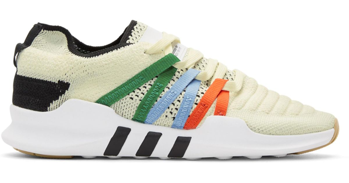 buy popular 5bf69 271f7 adidas Originals Off-white Eqt Racing Adv Pk Sneakers in Whi