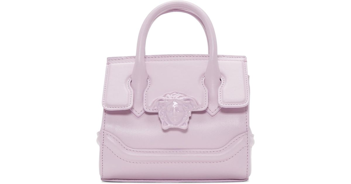 Lyst - Versace Pink Mini Empire Bag in Pink 50c2a0db7a1ba