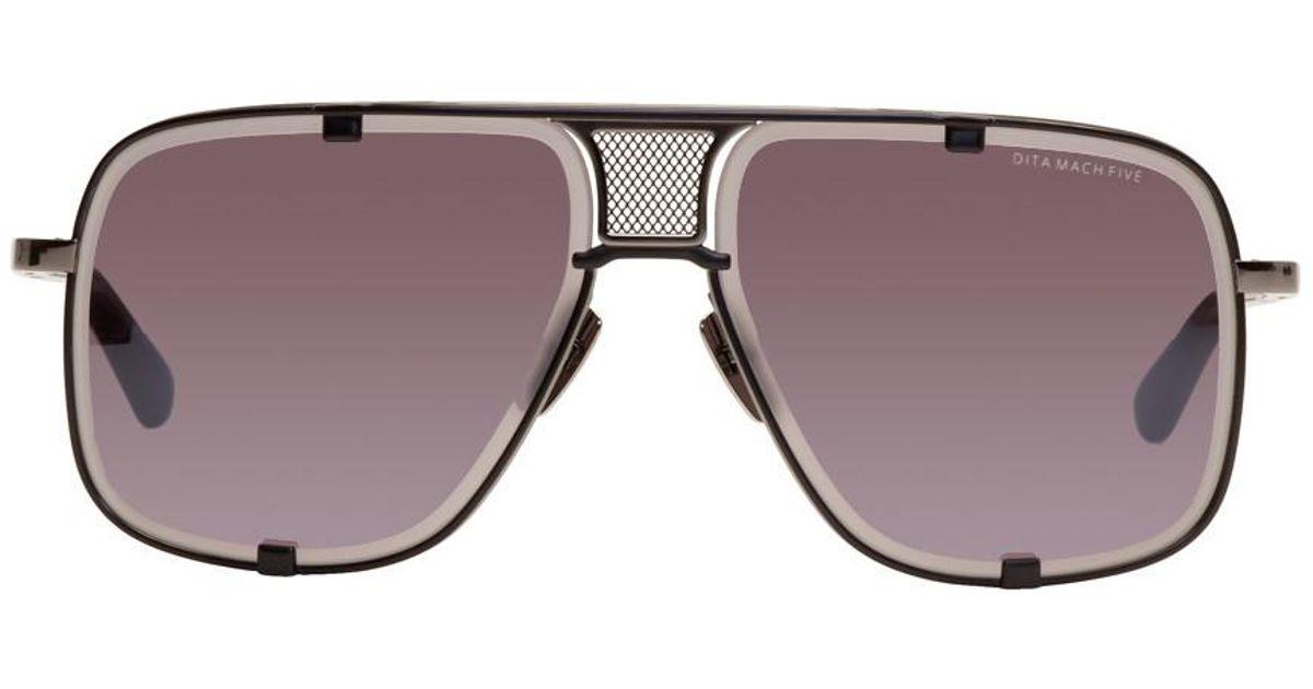 733d1ec6050 Lyst - DITA Black Limited Edition Mach Five Sunglasses for Men