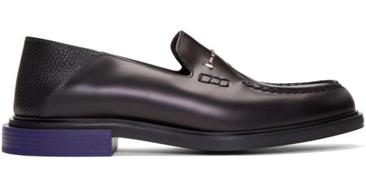 b9e51526ba1 Lyst fendi black convertible loafers in black for men jpg 1200x630 Fendi  loafers