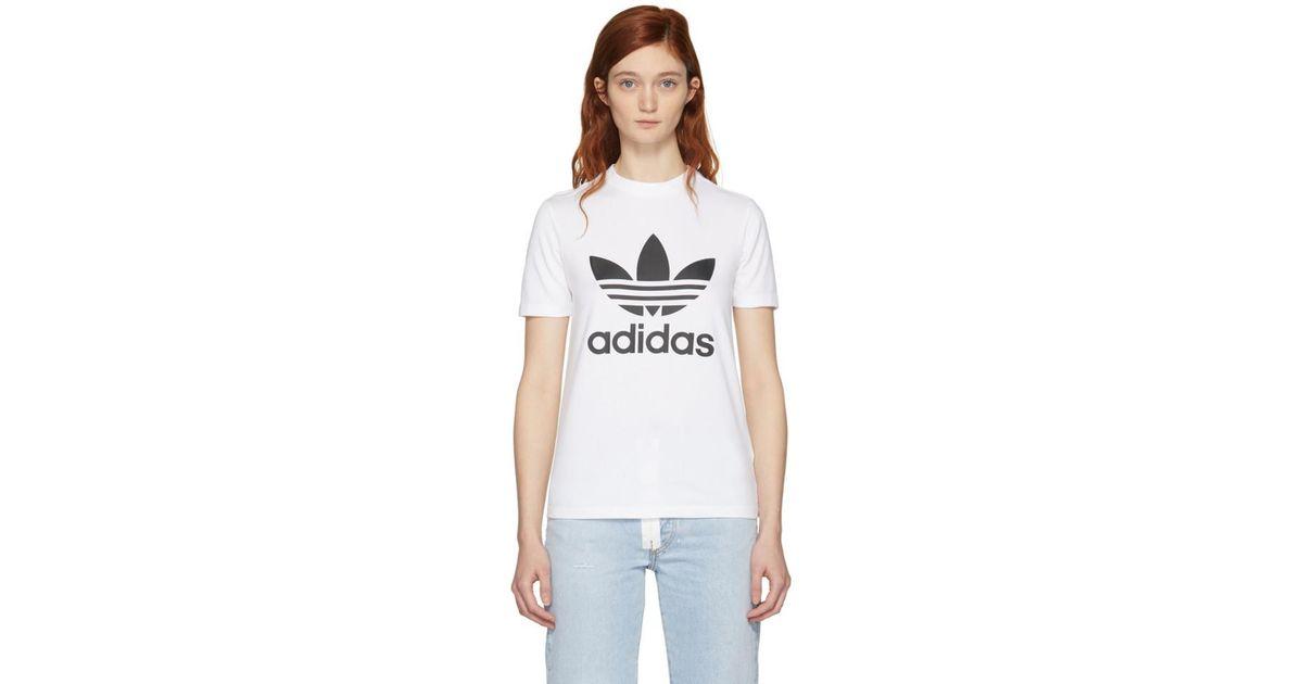 Shirt T Originals Adidas Coloris En White k0nwP8OX