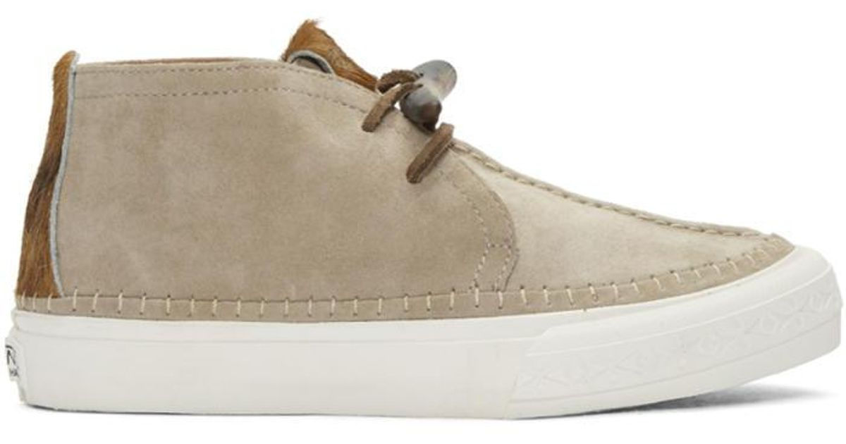 1e27b603b6 Lyst - Vans Grey Taka Hayashi Edition Chukka Nomad Lx Sneakers in Gray for  Men