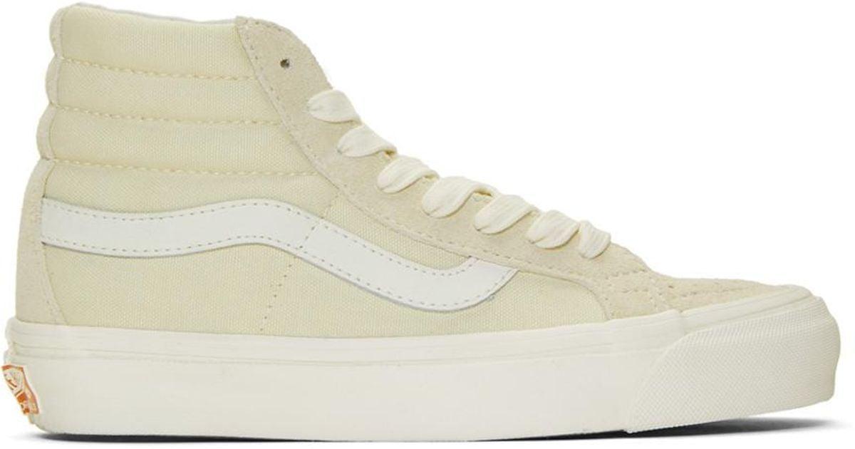 6b59bc5055 Lyst - Vans Off-white Og Sk8-hi Lx Sneakers