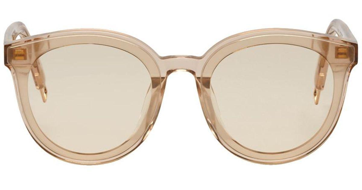 55bab49ddfae Gentle Monster Pink Black Peter Sunglasses in Pink for Men - Lyst