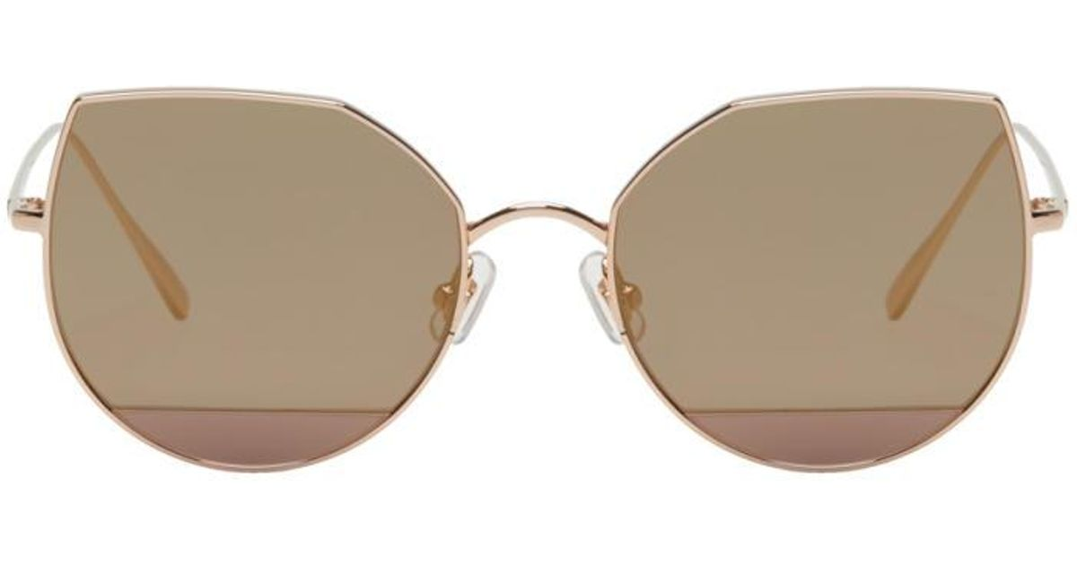 d7e9078735b13 Lyst - Gentle Monster Rose Gold Song Of Style Edition Us101 Sunglasses in  Pink