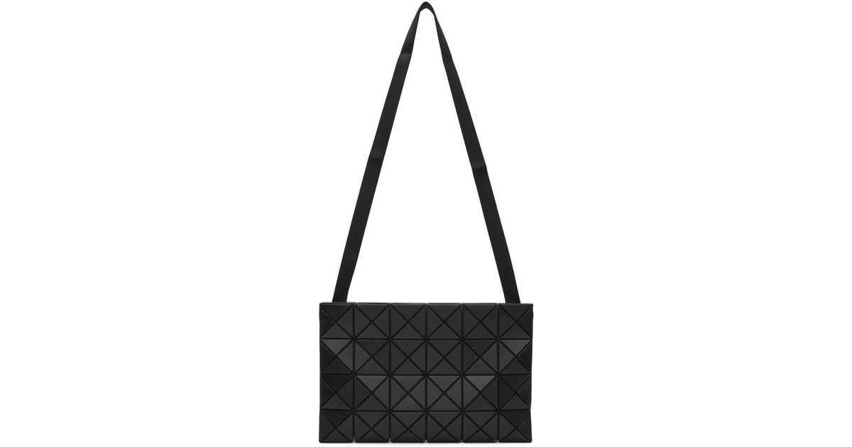 a3506b5c28 Lyst - Bao Bao Issey Miyake Black Lucent Messenger Bag in Black for Men