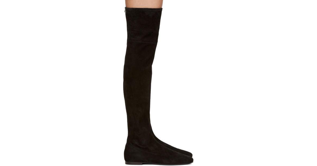 Giuseppe Zanotti Velvet Cika Over-the-Knee Boots xpT2kMS