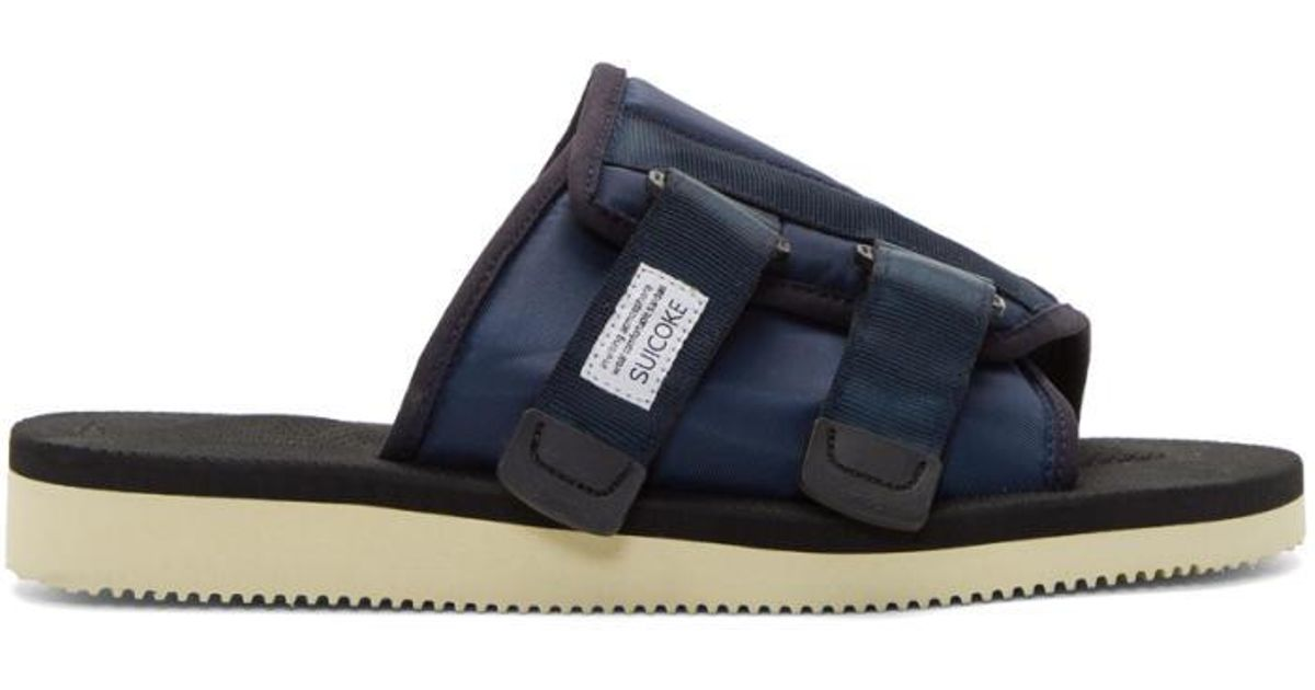 e05e7b7d59b6 Suicoke Navy Kaw Sandals in Blue for Men - Lyst