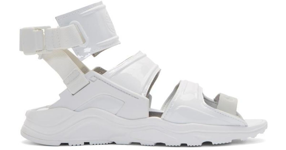 9da2317592 Nike White Air Huarache Gladiator Sandals in White - Lyst