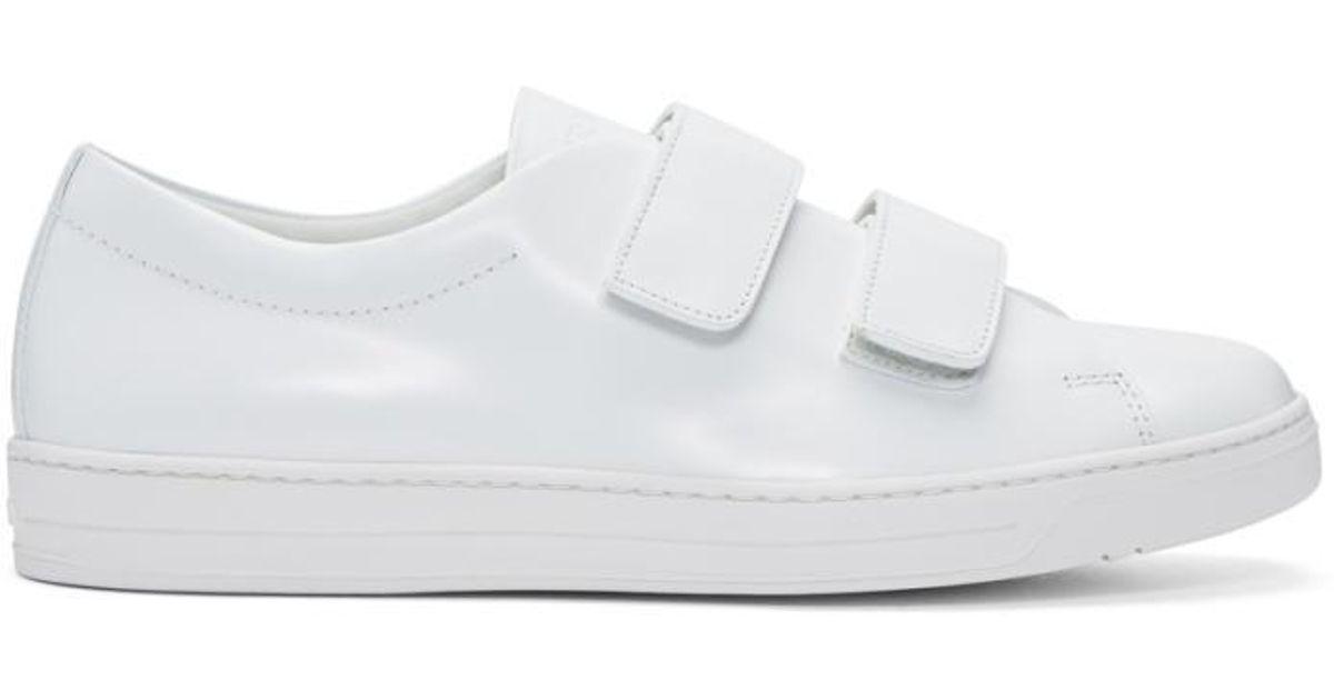 64f3723a coupon code prada sneakers straps 4ed6d ec246