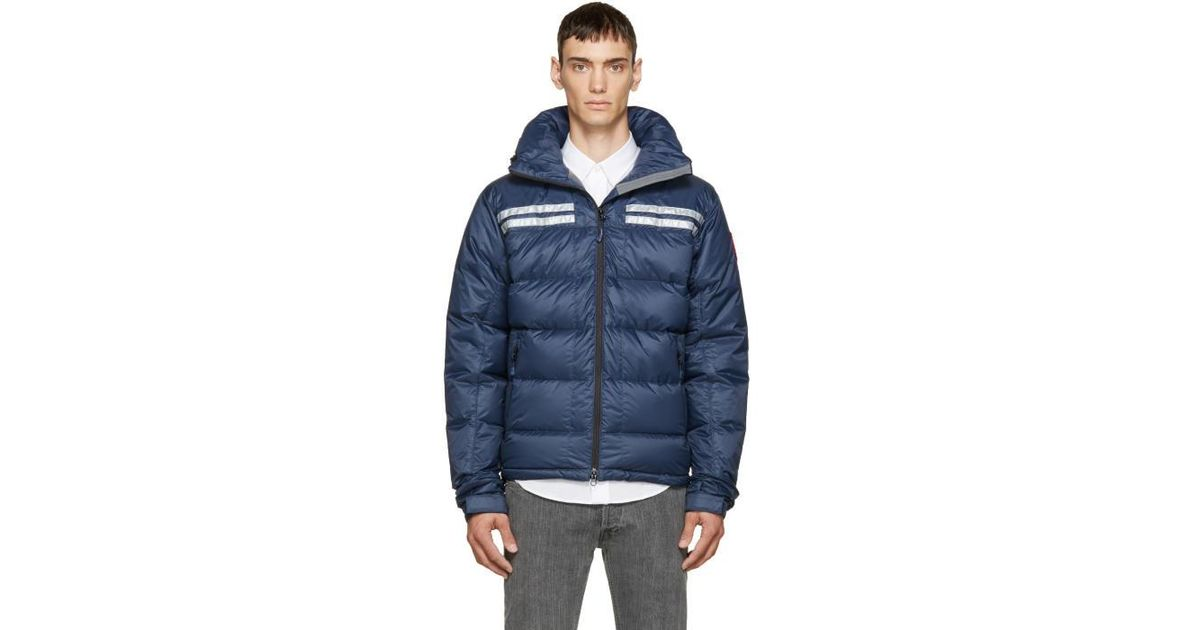 2c8647d12d7 Canada Goose Blue Down Summit Jacket in Blue for Men - Lyst
