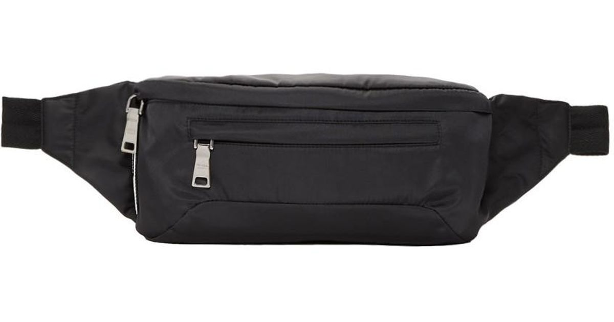 a1e509d04b03 Lyst - Prada Ssense Exclusive Grey Arca Edition Fanny Pack in Black for Men