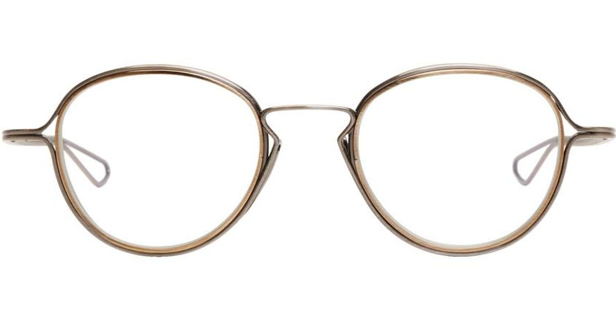 99794f9f3ba9 Lyst - DITA Silver Haliod Glasses in Metallic