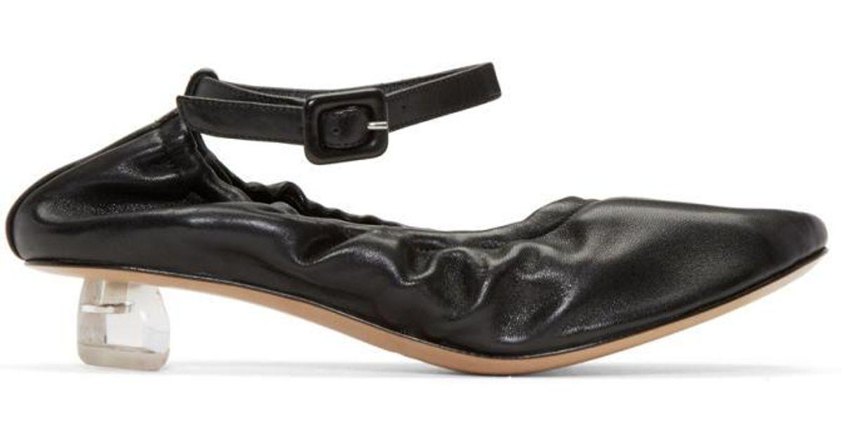 Special Offer Womens Simone Rocha Black Perspex Tooth Mini Heels