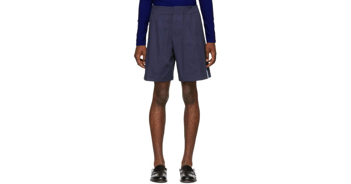 bc26cba760e2 Lyst - Kenzo Blue Summer Shorts in Blue for Men