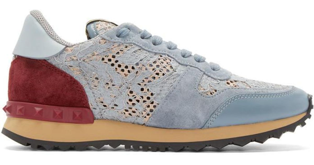Valentino Multicolor Metallic Purrfect Sneakers yRJH5Dxmph
