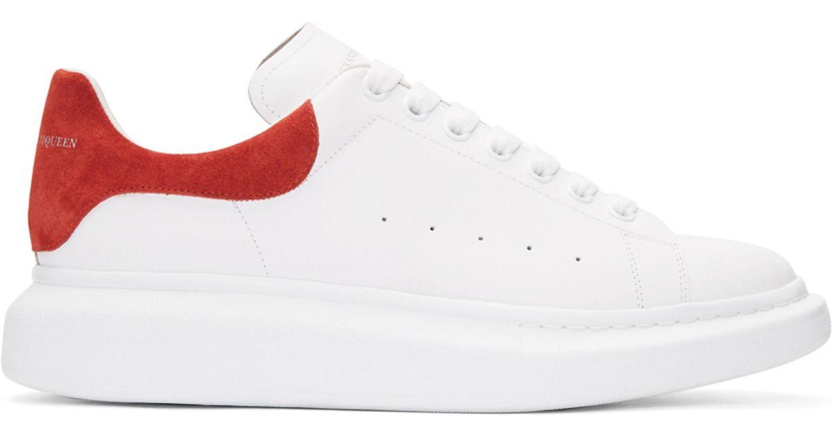Red Oversized Sneakers Alexander McQueen uq0J4w