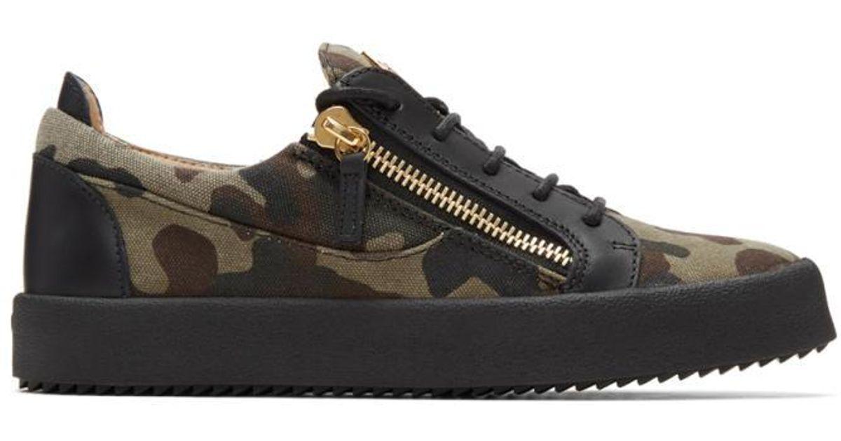 Giuseppe Zanotti& Camouflage May London Sneakers cqJidb
