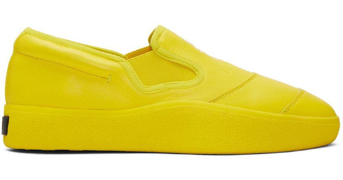 dae9494c0 Y-3 Yellow Tangutsu Sneakers in Yellow for Men - Lyst