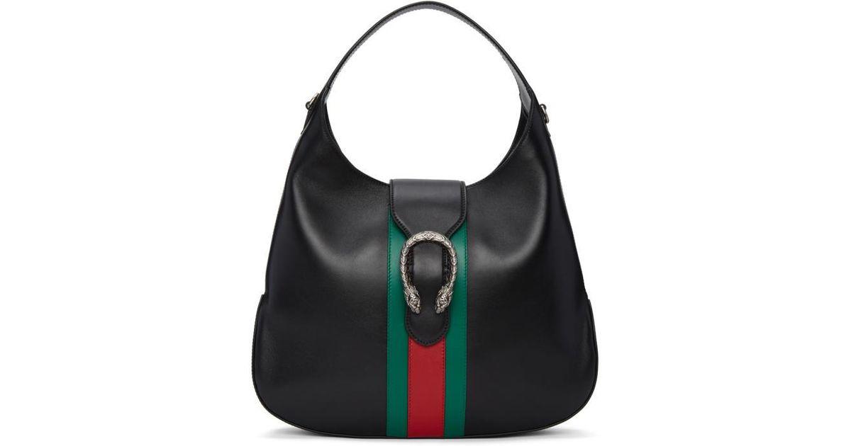 Gucci Black Dionysus Hobo Bag in Black - Lyst be33f97aca7e0
