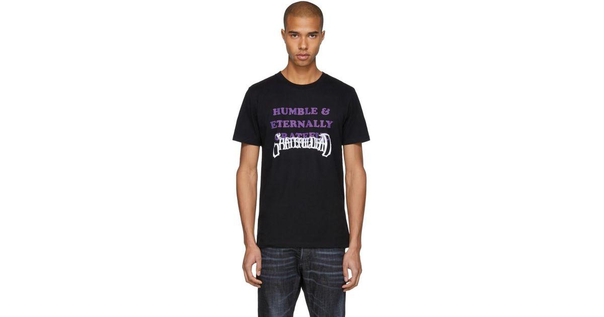 Obtenir La Dernière Mode Se Connecter Stolen Girlfriends Club Black Grateful Dead 'Humble & Eternally Grateful' T-Shirt Pré Commande Rabais Plus Grande Vente De Fournisseurs En Ligne Boutique En Ligne De La France CqmnkXZTR3