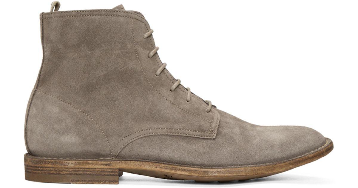 Officine creative Suede Standard Boots 2rSBAX8Hm