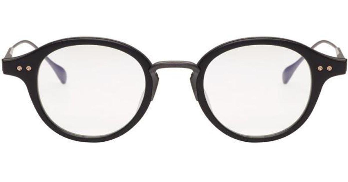 17955b8a1ed7 Lyst - Dita Black Spruce Glasses in Black for Men