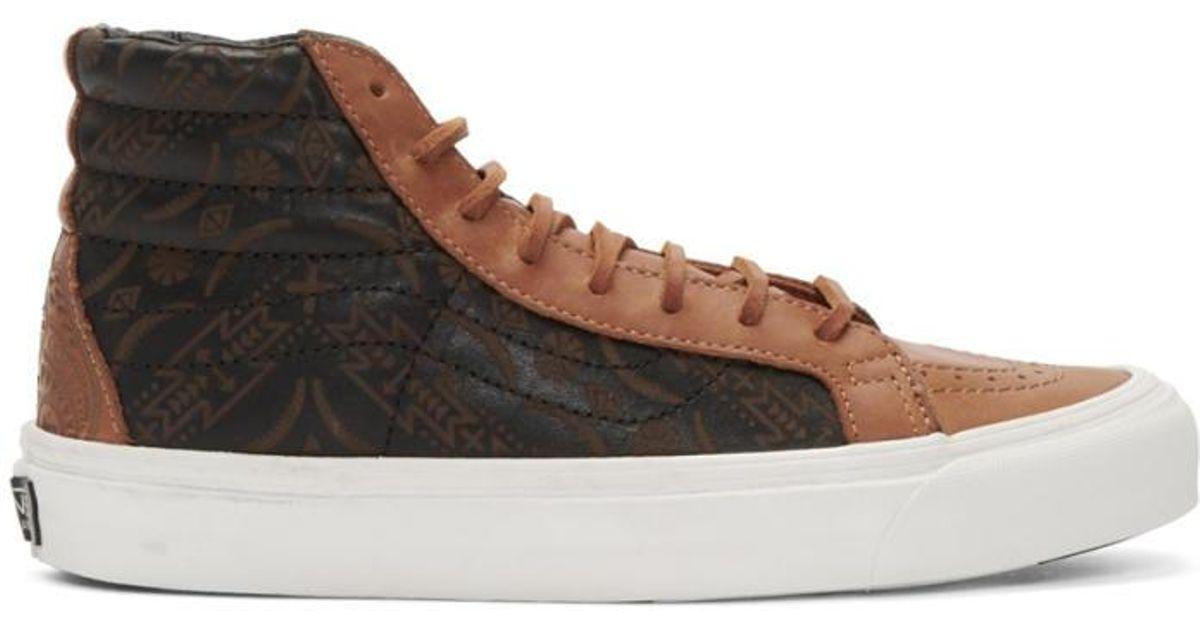 a75880c06d Lyst - Vans Brown Taka Hayashi Edition Og Sk8-hi Lx Sneakers in Brown for  Men