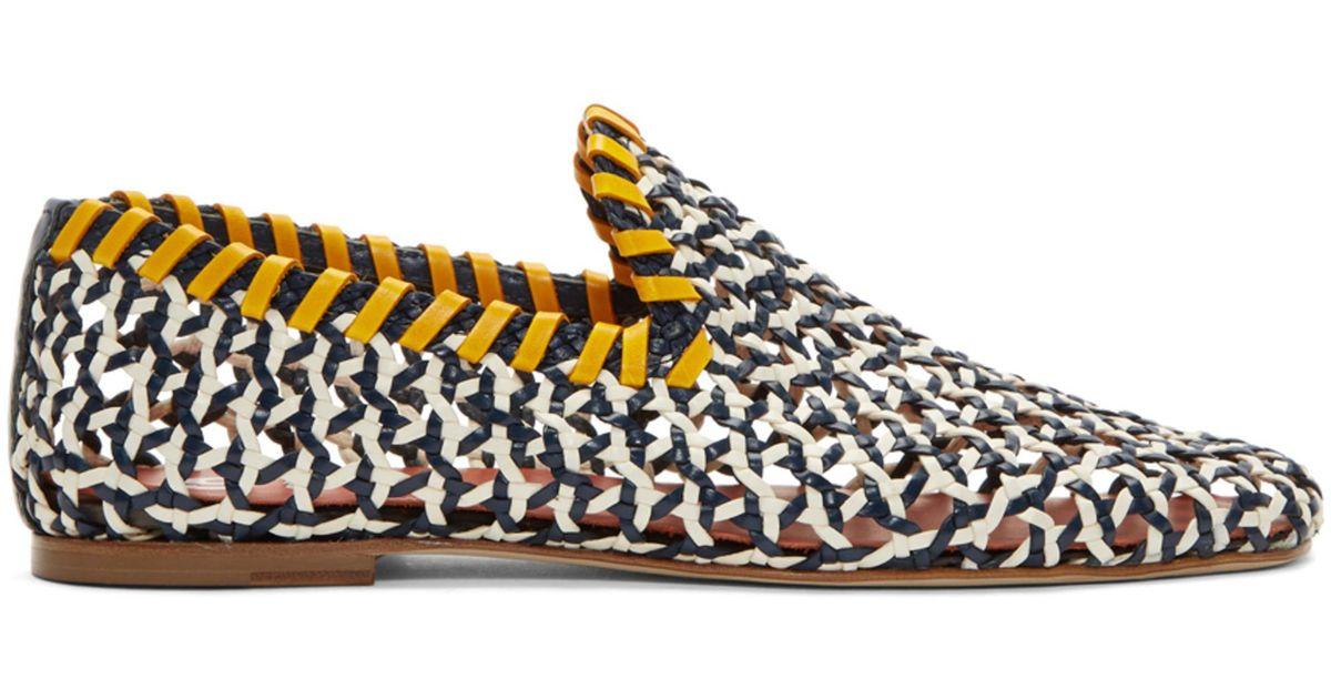 d907b1eebea Lyst - Acne Studios Multicolor Gamaal Loafers
