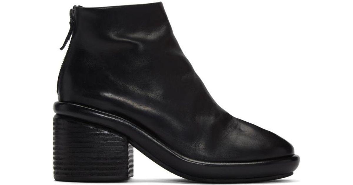 MARSèLL Black Salvagente Boots Qualité Escompte Élevé Sast Pas Cher En Ligne De Nouveaux Styles À Vendre Grande Vente En Ligne 7m8qB1