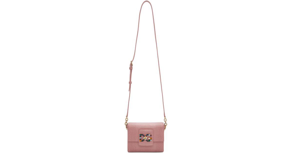 Dolce   Gabbana - Pink Dg Millennials Bag - Lyst 758cbf33c58