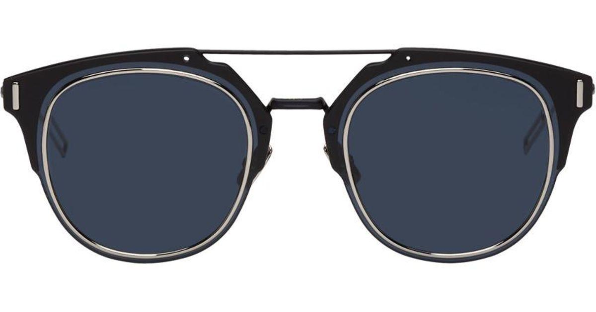 6af067ed83810 Dior Homme Navy Dior Composit 1.0 Sunglasses in Blue for Men - Lyst