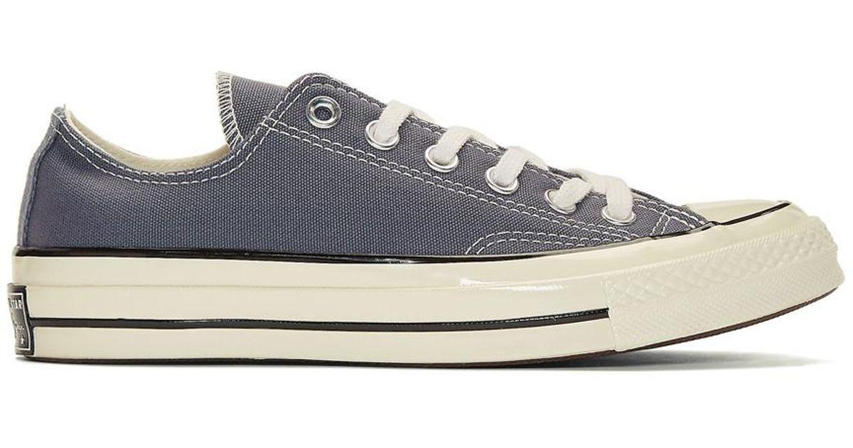 Grey Chuck Taylor Canvas Vintage Sneakers Converse o6x5Tq