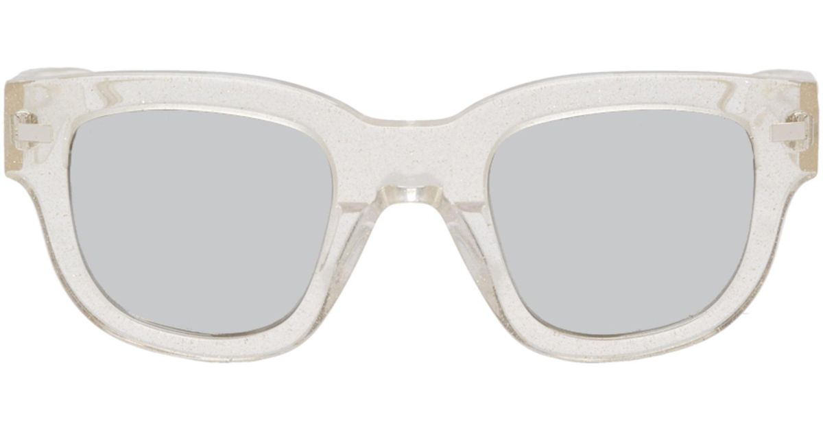 Frame Sunglasses in Transparent Glitter Acetate Acne Studios TqjN6ZVaEV