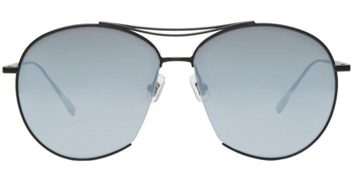 2b972753357d Lyst - Gentle Monster Black Jumping Jack Aviator Sunglasses in Black for Men