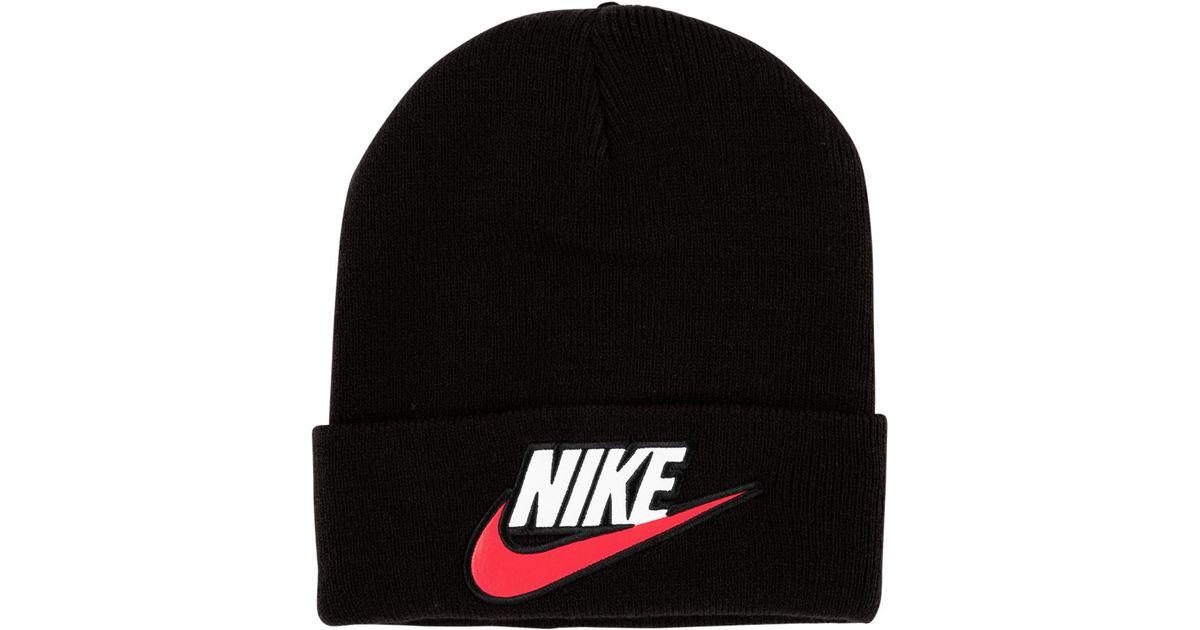 2ea049af550 Supreme Nike Beanie in Black for Men - Lyst